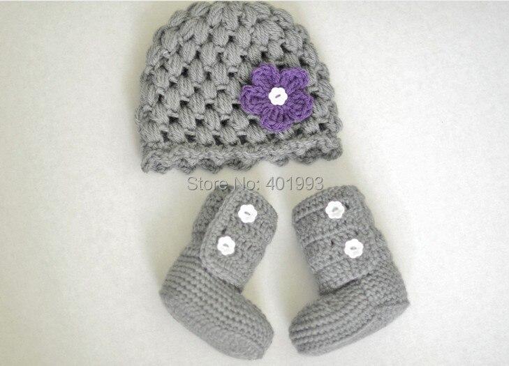 2015 nuevo! ganchillo hechos a mano lindo sombrero recién nacido y ...