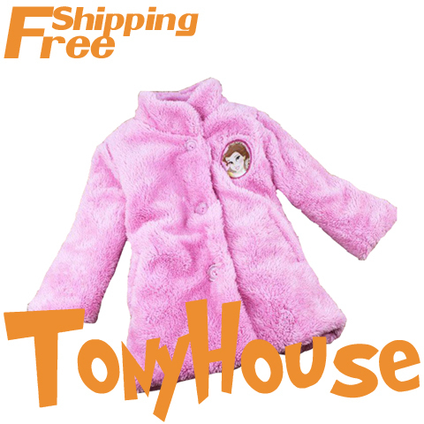 wholesale branded baby girls princess long sleeve Autumn winter fleece coat children's white pink fleece jackets free shipping