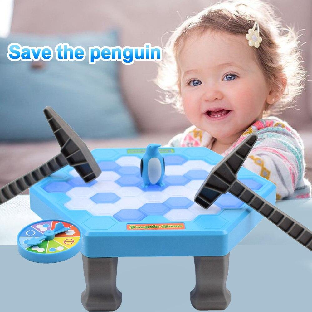 Huanger Пингвин ловушка ледокольной сохранить Пингвин игры Семья Развлечения игрушка родители-дети интерактивные веселые игры подарок