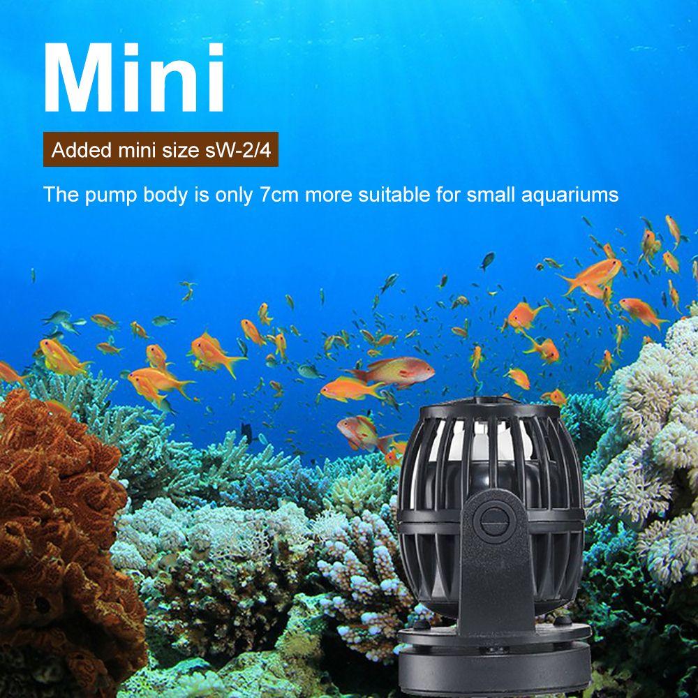 Pompe Submersible contrôleur intelligent pompe à aubes pour les étangs de poissons marins récif Version RW # SW2 SW4 SW8 SW15 pompes à eau
