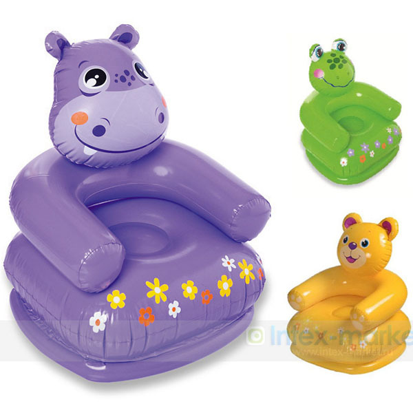 Intex 68556 Childrens Inflatable Sofa Chair Garden Home Furniture - Animal-chairs-for-children