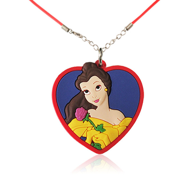 1PCS PVC Necklace Cartoon...