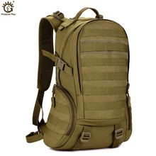 Unisex 2016 Military Tactical Outdoor Backpack Wear Nylon Fashion Leisure Sports Camouflage Waterproof Travel Bag  X74