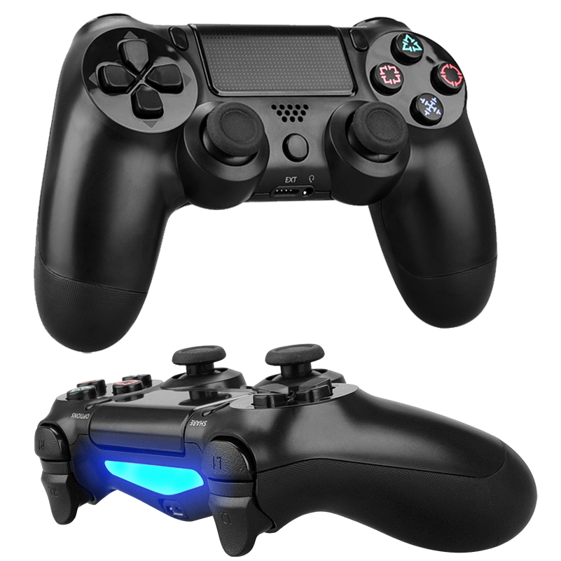Gamepads Playstation-Dualshock Ps4 Controller PS3 Bluetooth 4-Joystick for Wireless PC