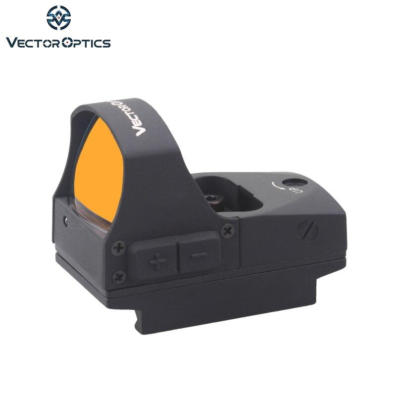 Vector Optics Esprit 1x25 Compact Red Dot Sight Chasse Pour Pistolet ou 21mm Pincatinny
