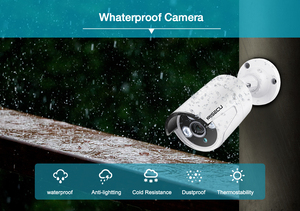 Image 5 - MISECU HD 8CH 4MP 5MP system kamer bezpieczeństwa POE H.265 nagrywanie dźwięku kamera IP IR na zewnątrz kryty wodoodporny nadzór wideo