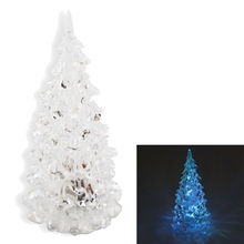 crystal christmas tree led table lamp light decoration xmas festival party gift cms6162 - Crystal Christmas Tree
