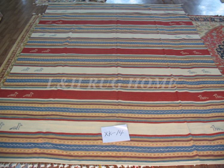 Free Shipping 8 X10 Kilim Carpets Hand Knotted Carpets