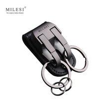 Milesi Для мужчин талии повесить металлический автомобильный