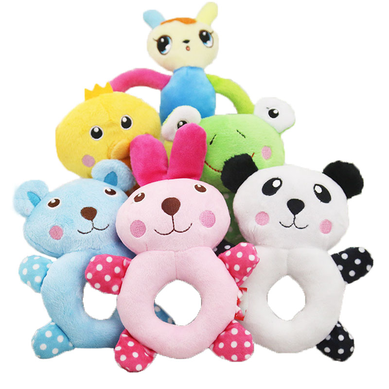 16 Style Plush Pet Dog Chew Toy Puppy Cat Squeaker Bite Toys Cute Animal Supply For Small Dogs Pets Accessories Doggyzstyle Dog Toys