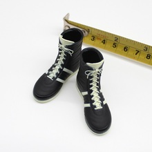 1/6 Male Black Boots Models Accessories for 12''Action Figures Bodies цена в Москве и Питере