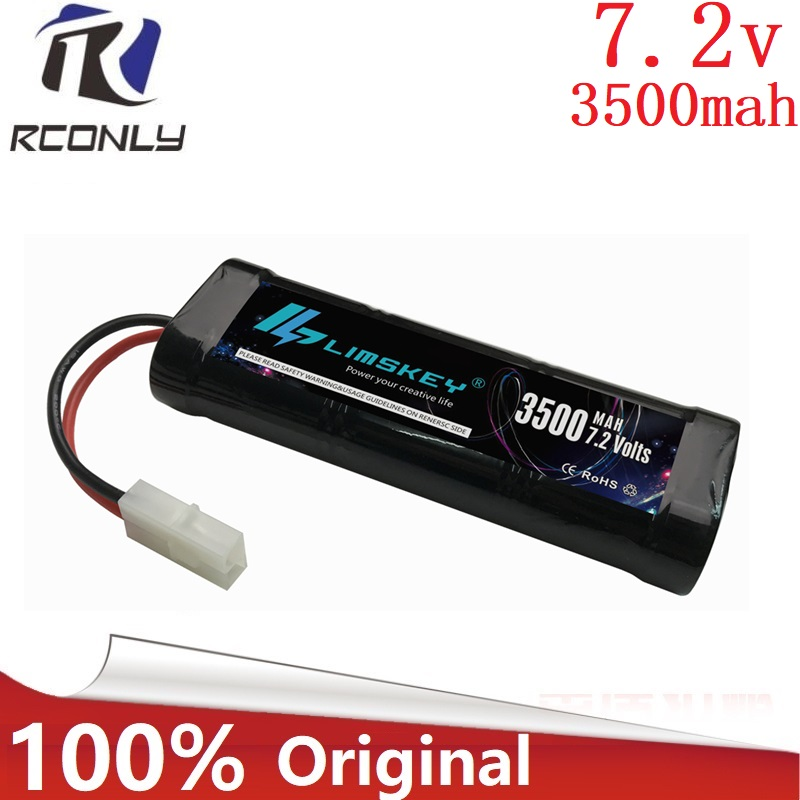 Original 7.2V 3500mAh 15c Battery Pack with Kep2p / Tamiya Plug High Capacty Cells for Controul Toys SC*6 Ni-MH Battery