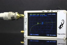 NanoVNA Vector Network analyzer 50 K 900 MHz Digitale LCD display HF VHF UHF Antenne Analysator Standing Wave Mess SSB filter