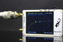 NanoVNA Vector Network analyzer 50 K 900 MHz จอแสดงผล LCD HF VHF UHF เสาอากาศเครื่องวิเคราะห์คลื่นยืนวัด SSB กรอง