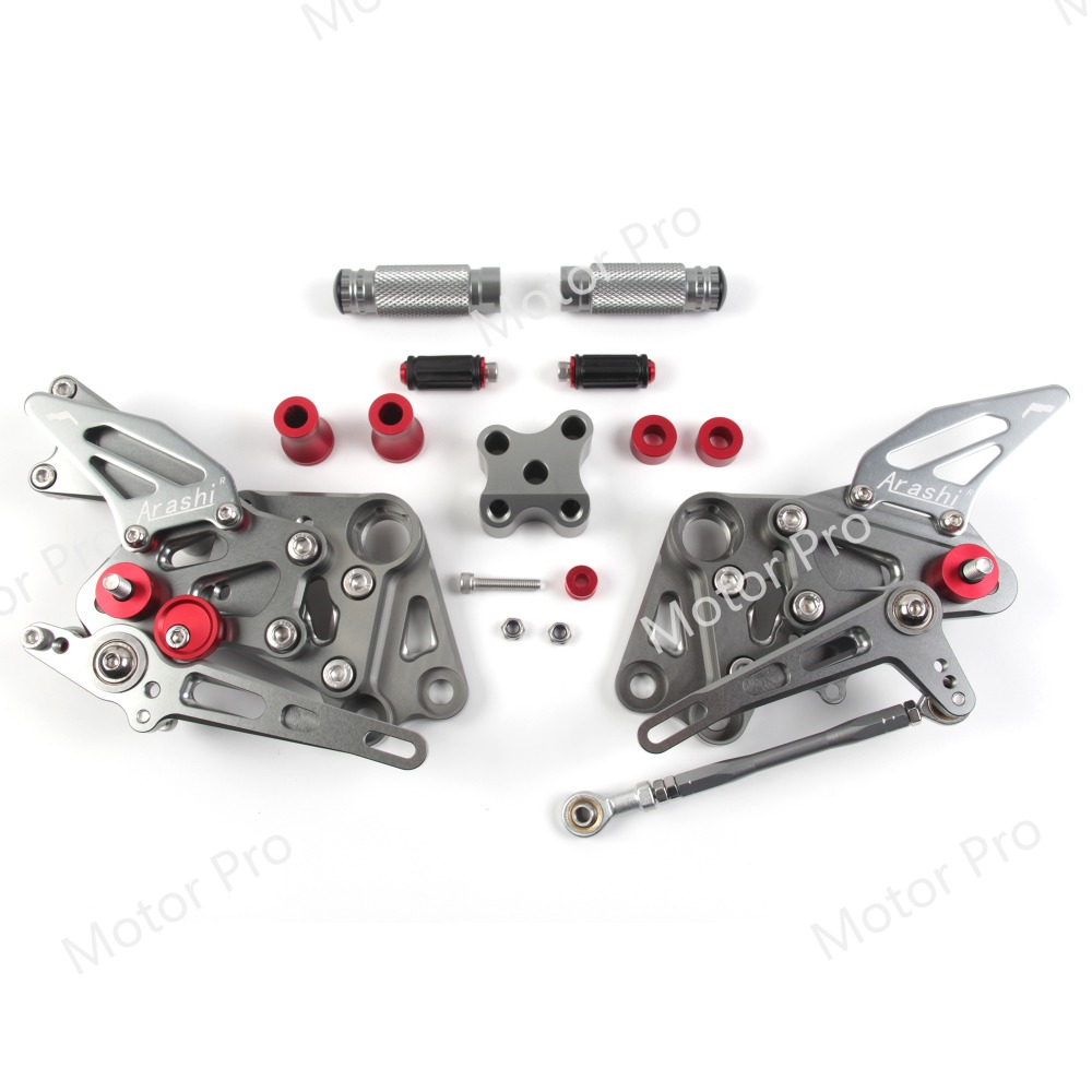 Adjustable Footrests For KTM RC390 2014 2018 RC DUKE 390 Motorcycle Parts Foot Rests Pegs Rearsets