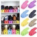 Для домашнего Использования Чистка Стойки Современный Двойной Очистки Хранения Обуви Стойку Гостиной Удобно Shoebox Обувь Организатор Стенда, Полки