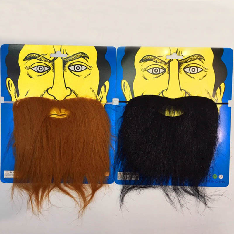 Halloween Xmas 36Pcs Fake Moustache Stick-on Tash Mustache Fancy Dress Toys