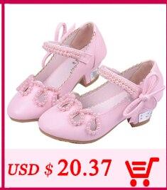 Sapatos de couro para meninas calçados infantis