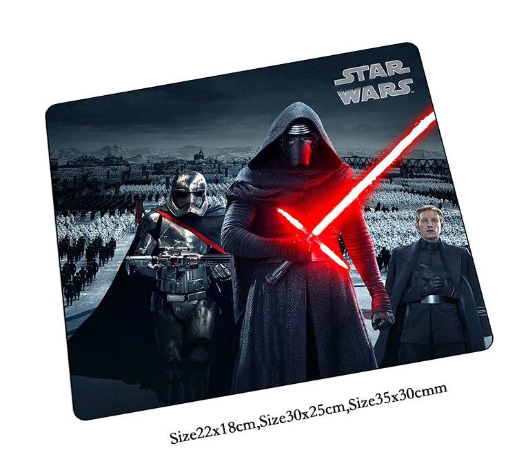 Star Wars коврик для мыши пользовательских коврики лучшие игровой коврик для мыши геймер padmouse высокого класса большой персонализированные мыш...