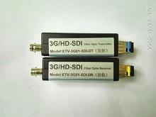 3G-SDI optical transceiver Uncompressed Engineering Grade SDI High Definition Optical Fiber Transmission Converter 1080P Single