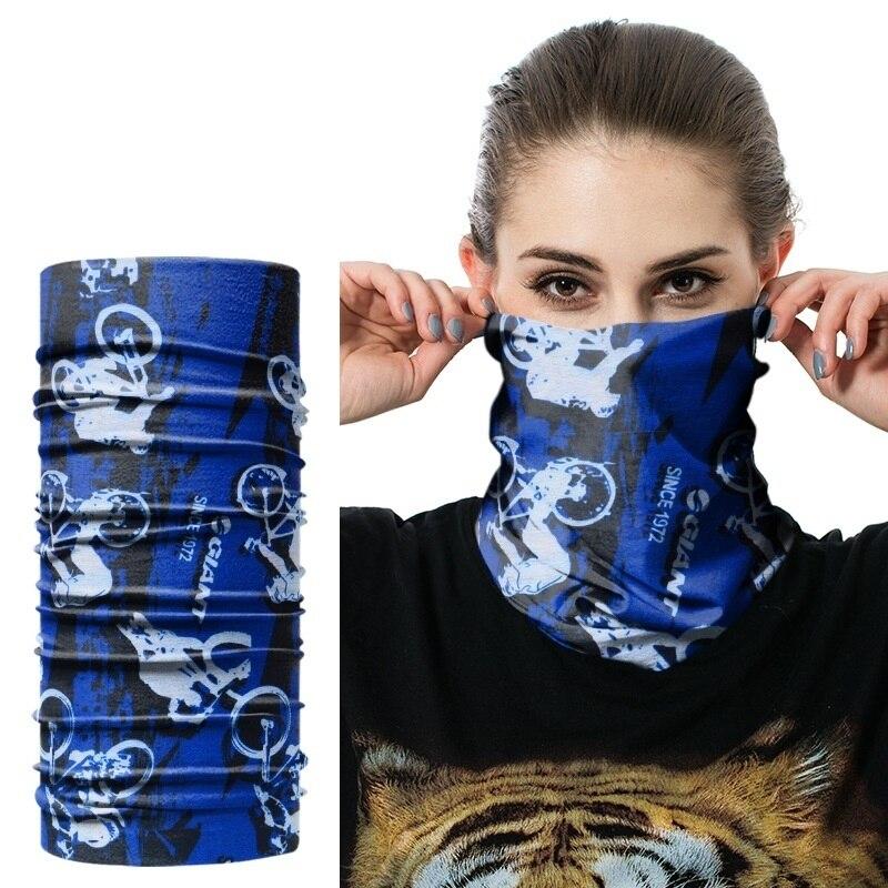 JAMONT Camouflage leaves Bandana Unisex Scarves Army Multifunction Seamless Tubular Bandanas Face Magic Headband