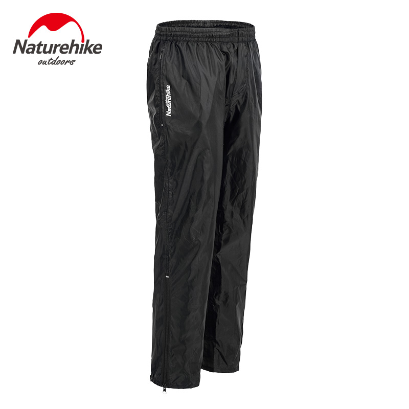 Naturehike Waterproof Pants Men Hiking Trekking Climbing Cycling Bike Rainproof Trousers Outdoor Windstopper Nylon Rain Pants
