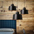 Modern Nordic Dining Room Bedroom Study Musical Instrument Personality iron decorative Pendant light lamp Lighting