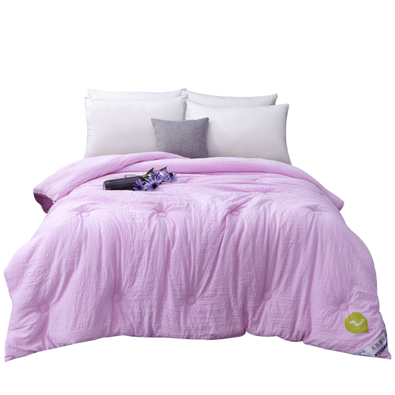 Funda Nordica 100% Luxury Chinese Silk Quilt Mulberry Comforter