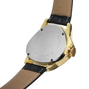 Image 4 - WINNER الموضة الإبداعية مثلث سطح كلاسيكي أسود الذهب ثلاثة مؤشر حزام الرجال ساعة معصم