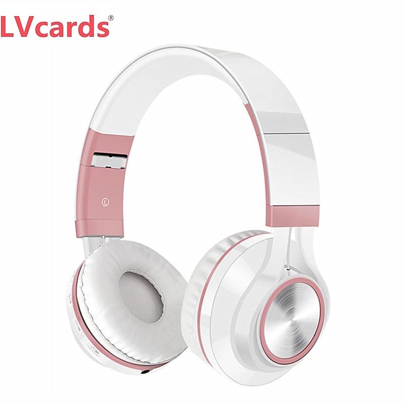 LVcards Bluetooth Headphone In Earphones & Headphones Support 16/32/64GB TF Card Headset For Phones/PC/MP3 B1+01