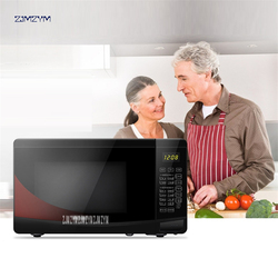 700W Household Microwave Oven MZ-2011 Mini multifunctional electronic Timer Microwave Oven 20L Intelligent barbecue turntable