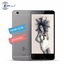 Кен V8 Оригинальный сенсорный сотовых телефонов 5.5 дюймов HD Dual Sim 4 г смартфонов Android мобильного телефона русский 2 ГБ ОЗУ замок 2017