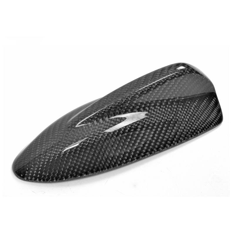 Antennes décoratives universelles de Fiber de carbone d'antenne de requin de toit d'aileron de requin de voiture pour BMW BENZ TOYOTA HYUNDAI HONDA Subaru