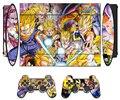 Dragon Ball Винил Наклейку Кожи Протектор для Sony PS3 Super Slim 4000 и 2 Контроллера Скины Наклейки