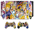 Dragon Ball Vinyl Skin Sticker Protector for Sony PS3 Super Slim 4000 and 2 Controller Skins Stickers