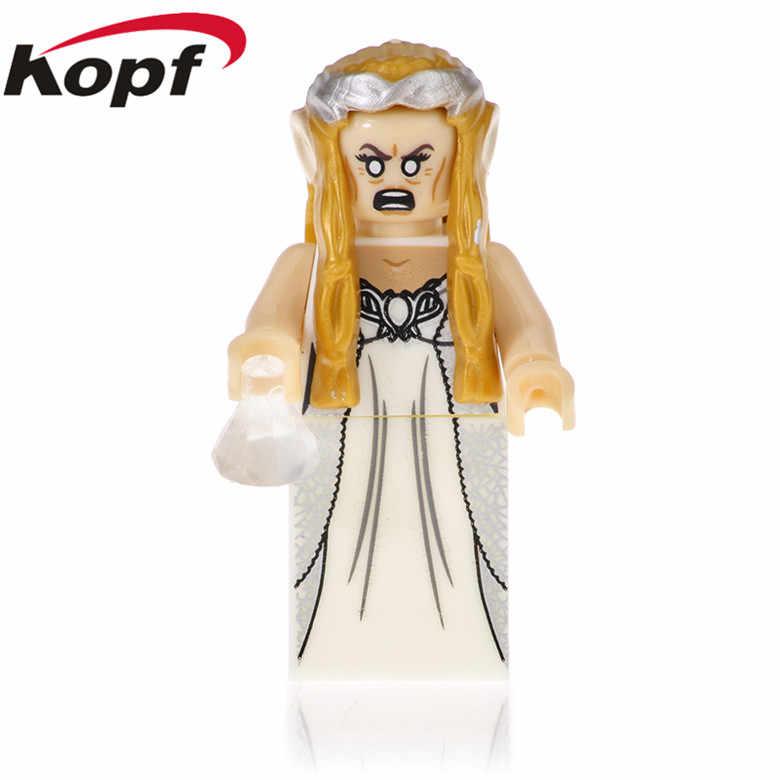 PG546 Đĩa Đơn Bán Chúa Tể của những chiếc Nhẫn Series Elrond Galadriel Thị Trưởng Hành Động Arwen Gandalf Khối Xây Dựng Cho Trẻ Tặng Đồ Chơi