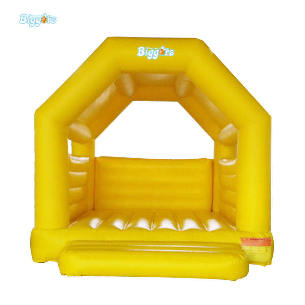 Inflatable Biggors CE Certification Yellow Color Inflatable Trampoline For Sale ao058m 2m hot selling inflatable advertising helium balloon ball pvc helium balioon inflatable sphere sky balloon for sale