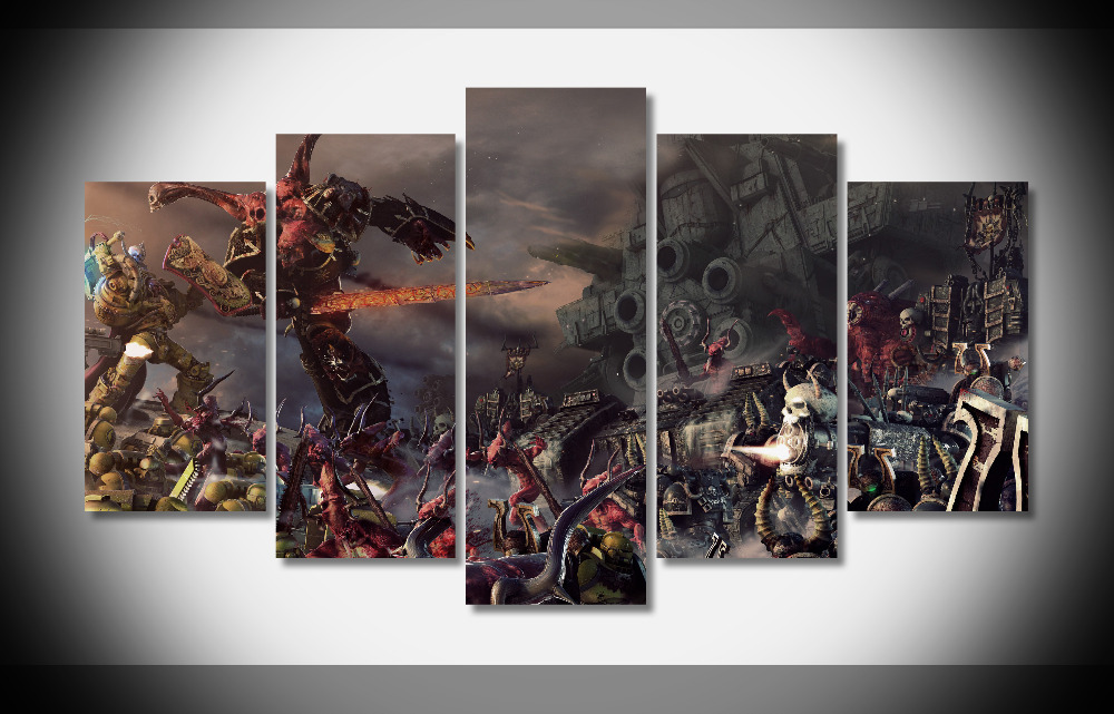 Wall Decoration Gifts : Warhammer wh k poster framed gallery wrap art
