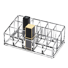 Dust-proof Multi-grid Cosmetic Storage Box Acrylic Desktop Eyebrow Brush Nail Jewelry Lipstick Makeup Mask Drawer Organizer network red recommend high quality four drawer multi function makeup organzier desktop organizer