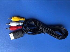 Image 2 - 100 יחידות 1.8 m מרוכבים AV אודיו וידאו טלוויזיה מתאם כבל עבור SEGA Dreamcast כבל AV כבל עבור DC128 הנמוך ביותר המחיר על aliexpress
