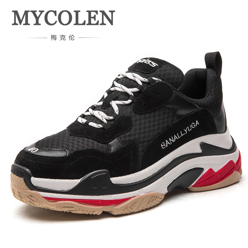 MYCOLEN The New Listing Lightweight Sneaker Famous Brand Lace-Up Style Shoes Comfortable Height Increase Casual Men Shoes mvp boy brand men shoes new arrivals fashion lightweight letter pattern men casual shoes comfortable lace up casual shoes men page 5 page 1 page 3 page 3