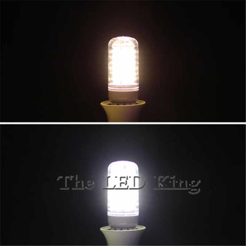 1 個超高輝度 Led E27 E14 G9 ライト 5730 220V 電球トウモロコシ 24-89Leds ランプ白熱 20 ワット- 100 ワットランパーダ Led スポットライト照明