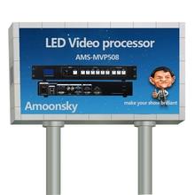 Mvp508 cor levou parede de vídeo vídeo de cor quad processor splitter levou p10 módulo de visualização rgb
