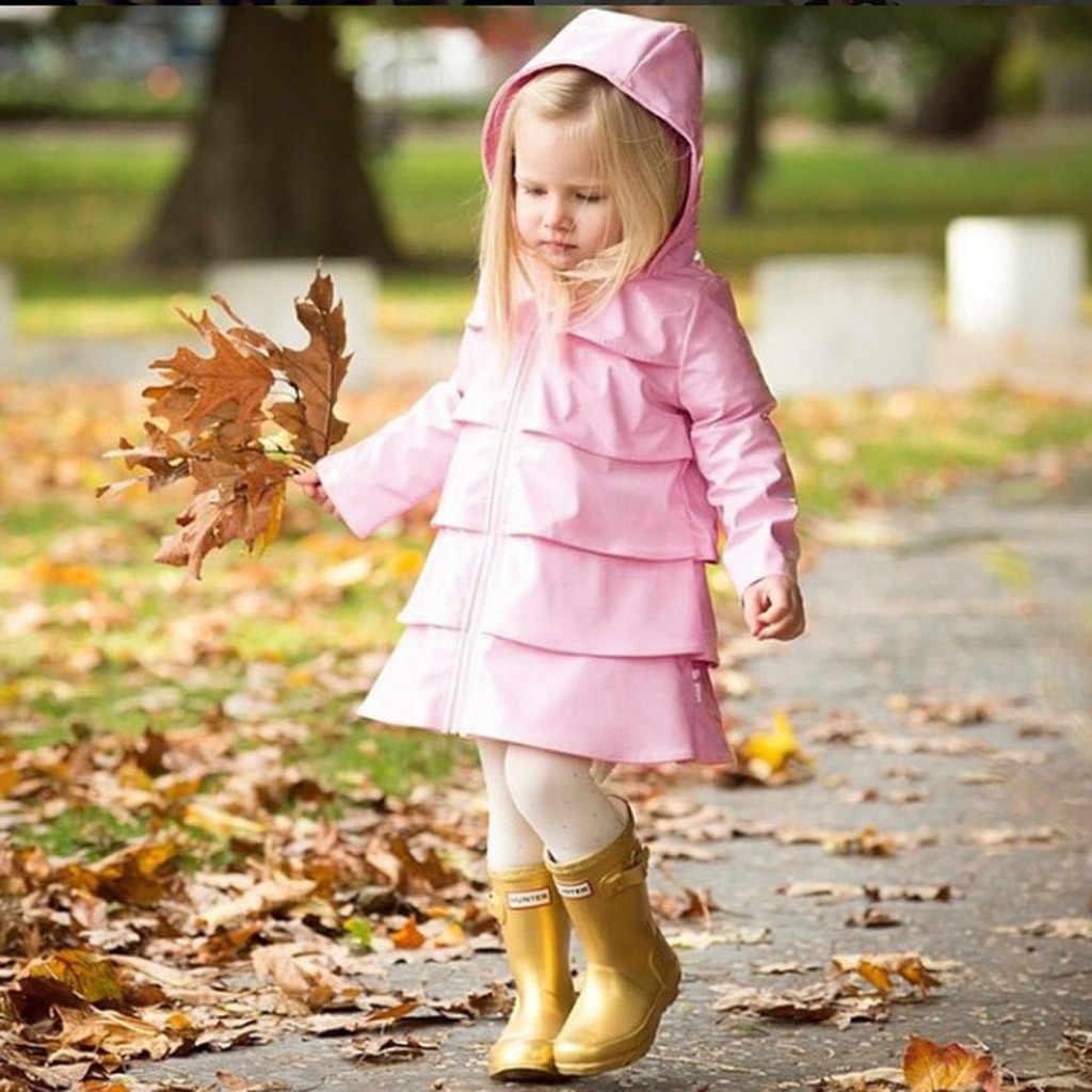 MUQGEW/Лидер продаж 2019 года для маленьких мальчиков и девочек, ветровка на молнии с капюшоном, топы, непромокаемые куртки, пальто, дропшиппинг, одежда для малышей