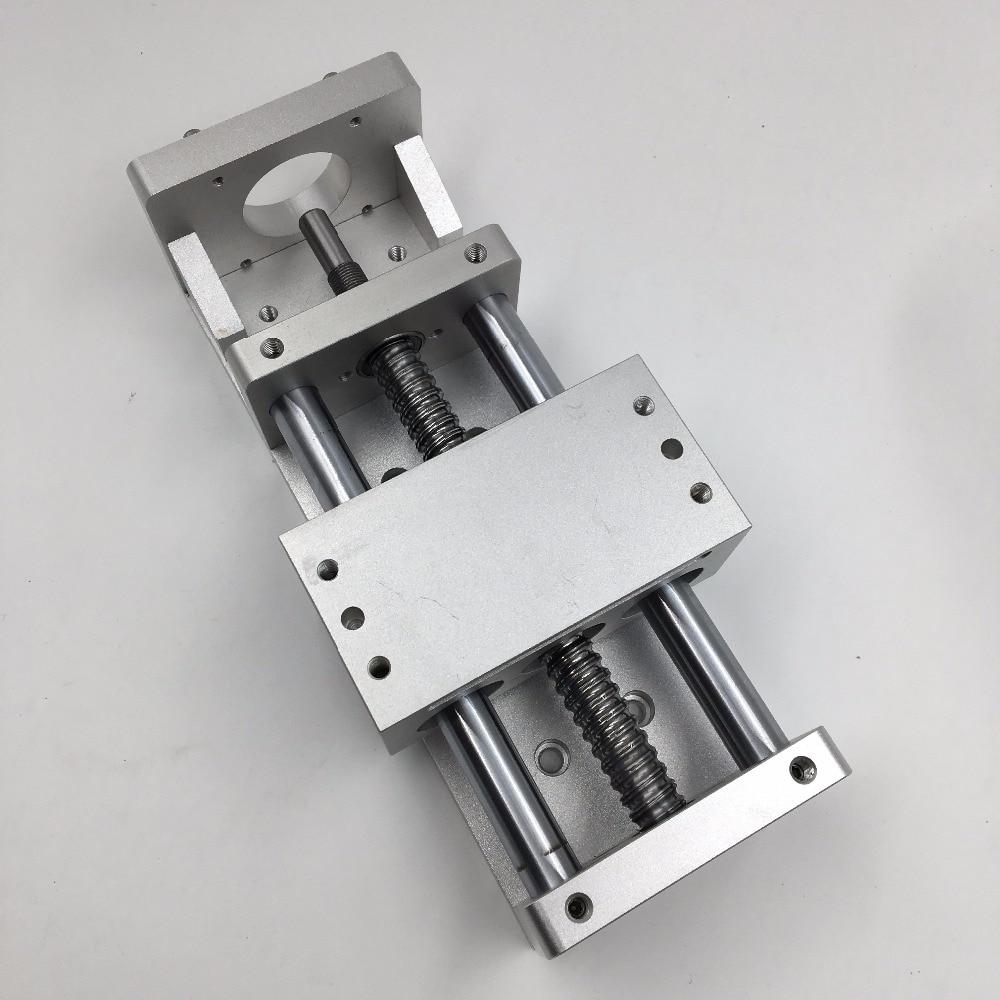 SFU1605 Ballscrew Cross Slide L-300mm Linear Guide Stage Actuator Electric Sliding Table C7 CNC Milling EngravingSFU1605 Ballscrew Cross Slide L-300mm Linear Guide Stage Actuator Electric Sliding Table C7 CNC Milling Engraving