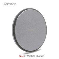 Amstar Qi Wireless Charger 10W Fast Charge For Samsung S8 Plus IPhone X 8 Qi Wireless