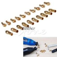 Power Tools 10Pcs Brass Drill Chucks Collet Bits 0 5 3 2mm 4 3mm Shank for