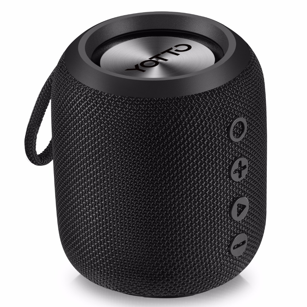 YOTTO Bluetooth Speaker Portable 12W IPX6 Waterproof, Wireless Speakers with HiFi-Tec, Aux Cable Bluetooth 4.2 FM Radio Outdoor YOTTO Bluetooth Speaker Portable 12W IPX6 Waterproof, Wireless Speakers with HiFi-Tec, Aux Cable Bluetooth 4.2 FM Radio Outdoor