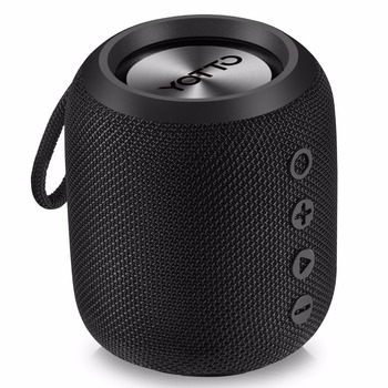 YOTTO Bluetooth Speaker Portable 12W IPX6 Waterproof, Wireless Speakers with HiFi-Tec, Aux Cable Bluetooth 4.2 FM Radio Outdoor