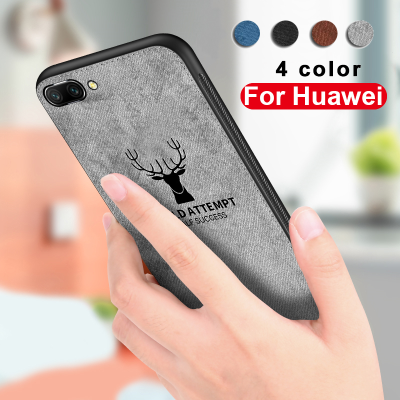 Luxury Case For Huawei p20 lite Case on honor 6x 7c 7x 8x max 10 nova 3 i 3i mate 10 20 lite pro xCover Cloth Mobile Phone Shell